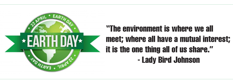 Earth Day - Lady Bird Johnson Quote