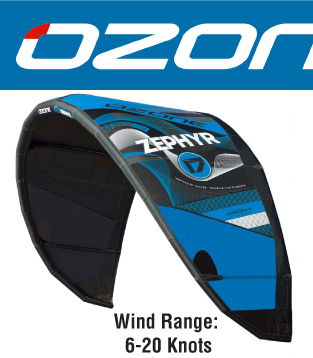 2016 Ozone Zephyr - Light wind Kite