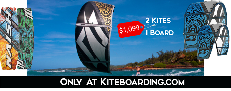 Naish Ultimate Kiteboarding Package