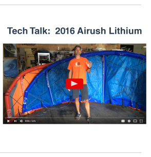 Tech Talk with Jeff - 2016 Airush Lithium Review