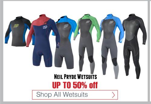 NP Wetsuits - Neil Pryde Wetsuits up to 50% off