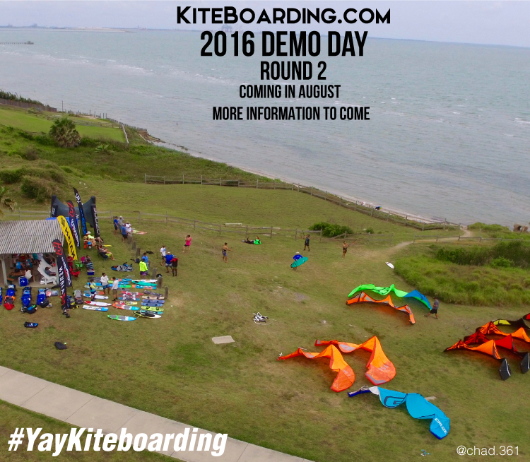 Kiteboarding.com Demo Day - Kiteboarding Demo