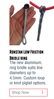 Ronstan low friction bridle ring pulley