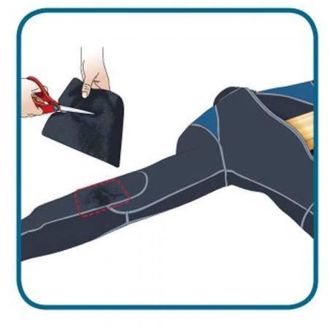 Gear Aid Tenacious Tape Iron-On Neoprene Patch