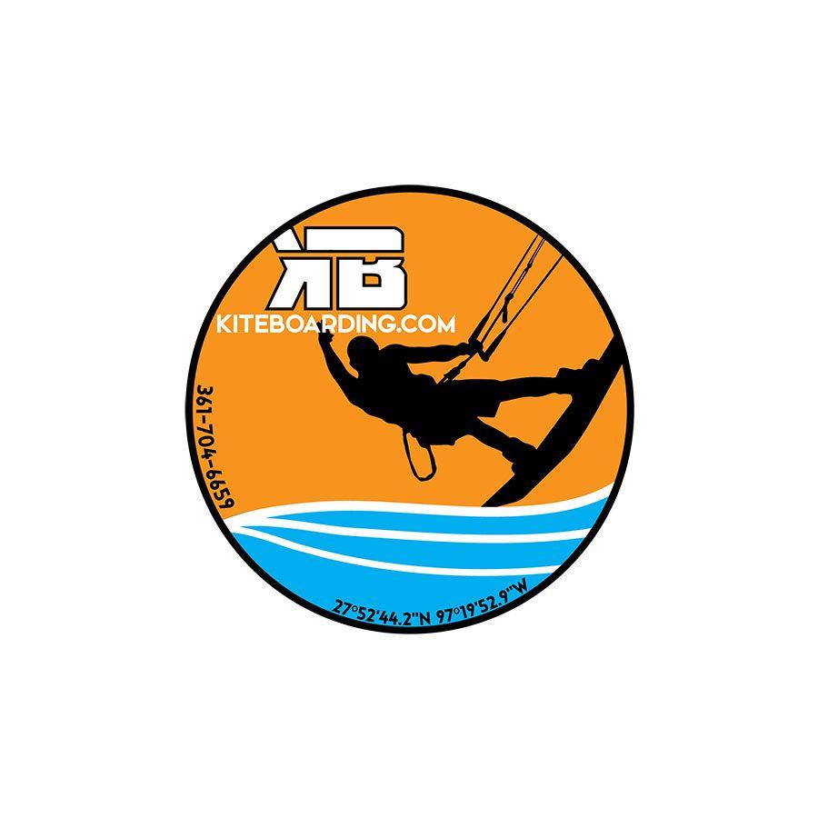 Kiteboarding com 2019 Kiter Dude Sticker