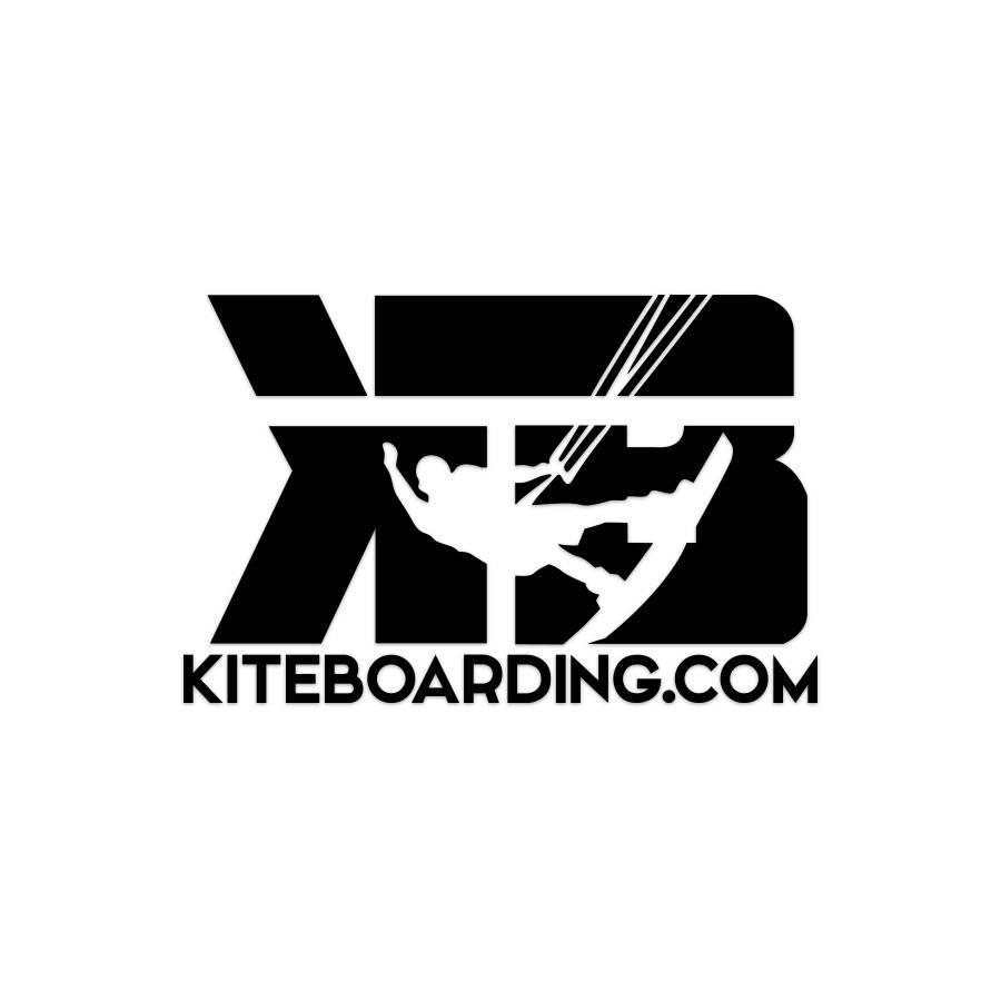 Black Kiteboarding com Transfer Decal
