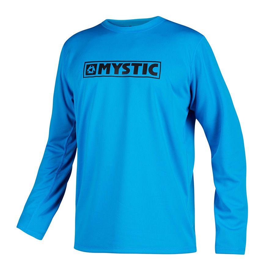 Wassersport Shirt Lycra MYSTIC STAR QUICKDRY SS Lycra 2020 blue T-shirt