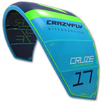 2018 Crazyfly Cruze Light Wind Kite - 20% off