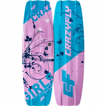 2019 Crazyfly Girls Twintip Kiteboard - 55% Off