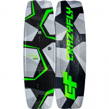 2019 Crazyfly Raptor LTD Neon Twintip Kiteboard - 20% OFF!
