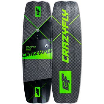 2020 Crazyfly Raptor LTD NEON Twin Tip kiteboard - 10% Off