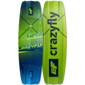 2020 Crazyfly Raptor Twin Tip kiteboard