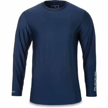 Dakine Long Sleeve Heavy Duty Rashguard - Resin Large