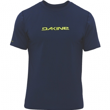 Dakine Short Sleeve Heavy Duty Rashguard - Navy