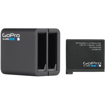 Gopro Hero 4 Dual Battery Charger and Battery