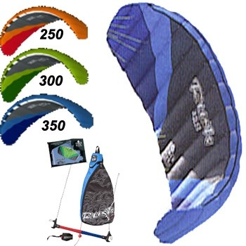 HQ Rush IV PRO Kiteboarding Trainer Kite  Only 300 ( 1 left)