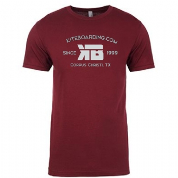 Kiteboarding.com College Style T-Shirt