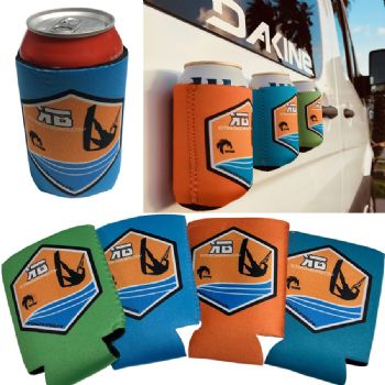 Kiteboarding.com Magnetic Can Cooler - Beverage Insulator - Drink Holder
