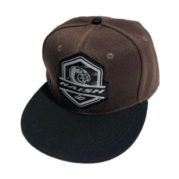 Naish Snapback Wave Patch Hat - Brown