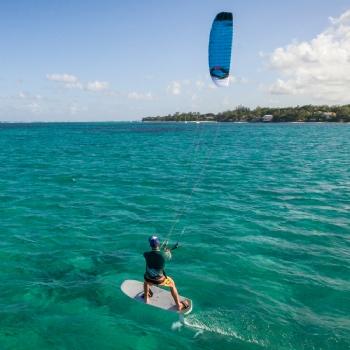 Kiteboarding Kites Ozone Hyperlink V1 Convertible Open