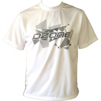 Ozone Wet Tech T-Shirt Short Sleeve - White - 40% Off