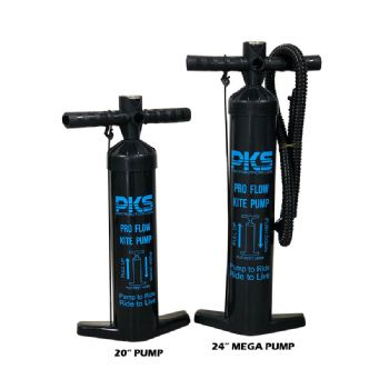 "PKS Pro Flow V2 MEGA 24"" Kite Pump with PSI meter"