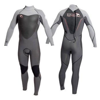 Rip Curl Flash Bomb Back Zip 3/2 Kiteboarding Wetsuit