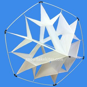 Snowflake Kite Facet