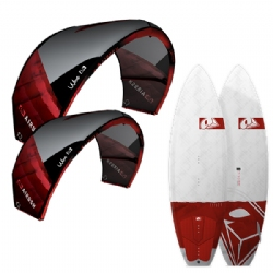 2015 Airush Wave Surf 2 Kite and Board Package
