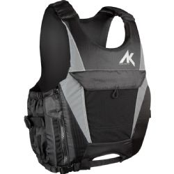AK Durable Supply CE Approved Floatation Vest - Black