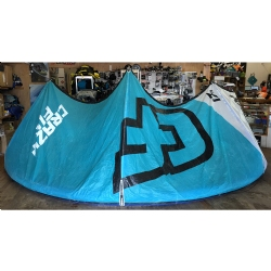DEMO 2014 Crazyfly Cruze Kite 17m Complete