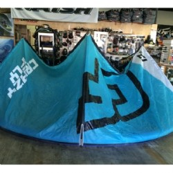 DEMO 2014 Crazyfly Cruze Kite 17m