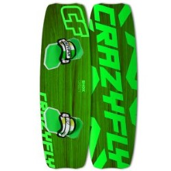 2014 Crazyfly Shox Green Twintip Kiteboard - 20% off