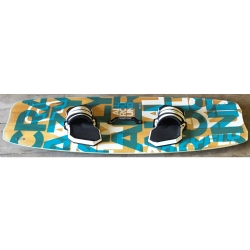 DEMO 2015 Crazyfly Allround 145x44cm Twintip Kiteboard