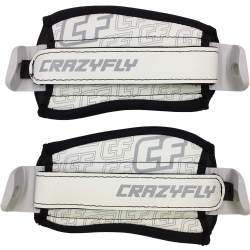 Crazyfly QuickFix II Straps White