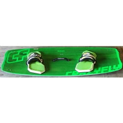 DEMO 2014/2015 Crazyfly Shox Green 136x41 Twintip Kiteboard
