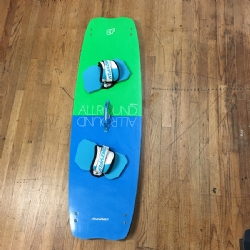 Demo 2016 Crazyfly Allround 145x44 Twintip Kiteboard Complete