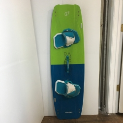 Demo 2016 Crazyfly Raptor 140 Twintip Kiteboard