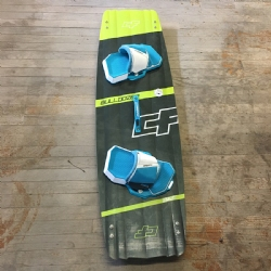 Demo 2017 Crazyfly Bulldozer Twintip Kiteboard 135x41