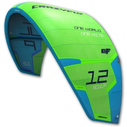 Repaired NEW 2017 Crazyfly Sculp 13m Green
