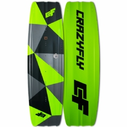 2018 Crazyfly Bulldozer Twintip Kiteboard - 20% off