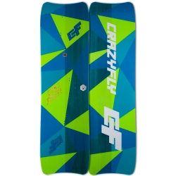2018 Crazyfly Cruiser Double Tandem Twintip Kiteboard - 20% off