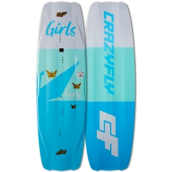 2018 Crazyfly Girls Twintip Kiteboard - 20% off