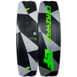2018 Crazyfly Raptor LTD Neon Twintip Kiteboard - 20% off