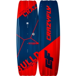 2019 Crazyfly Bulldozer Twintip Kiteboard Complete w/Bindings - 40% OFF!