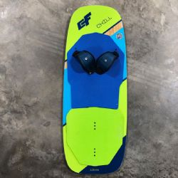 2019 Crazyfly Chill Foil Deck 115cm Demo