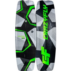 2019 Crazyfly Raptor LTD Neon Twintip Kiteboard