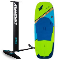 Crazyfly Cruz 690 Foil and 2019 Chill 130 Board Package