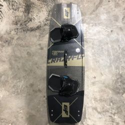 2020 Crazyfly Raptor LTD Twin Tip kiteboard - Shop Demo - 132x41cm - Complete