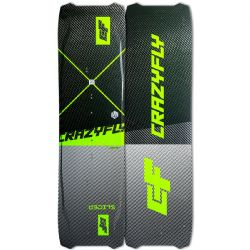 2020 Crazyfly Slicer Twin Tip Light Wind Kiteboard